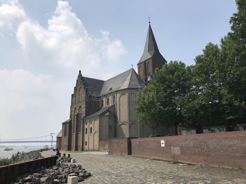 St.Martini Emmerich church royalty free stock photo