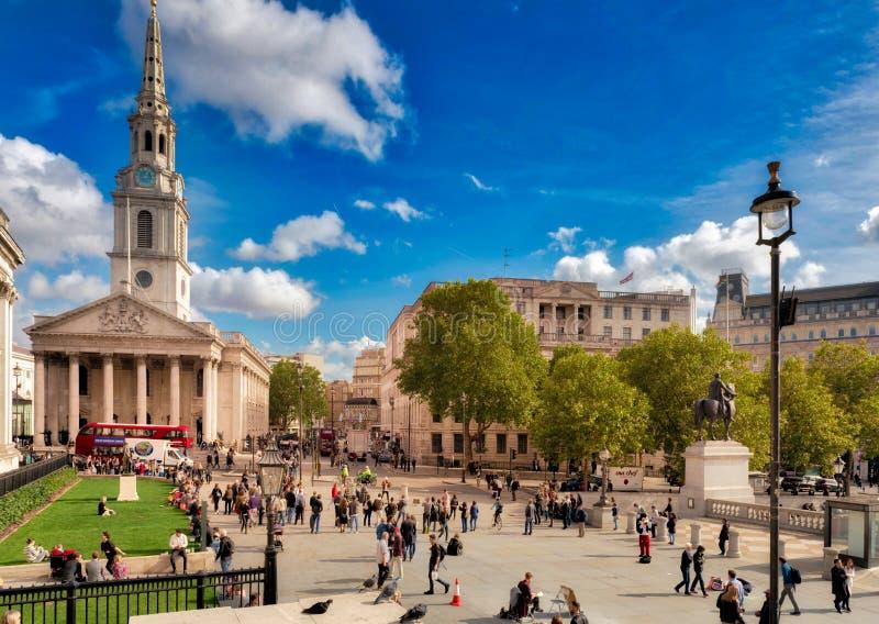 St Martins auf den Gebieten, London stockbilder