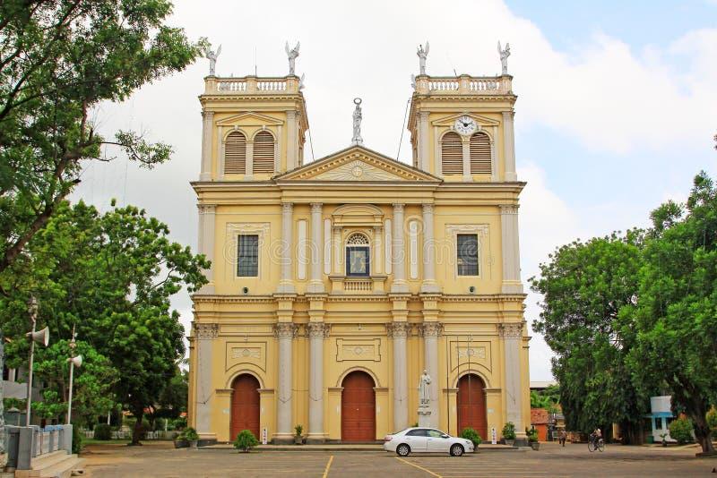 St Mary's教会, Negombo,斯里兰卡 库存图片
