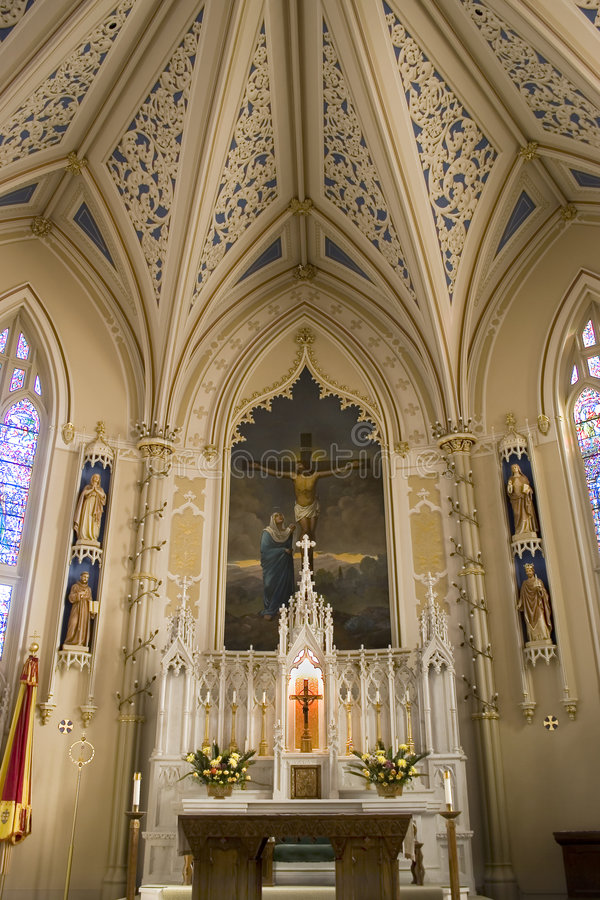 st mary базилики стоковое фото rf
