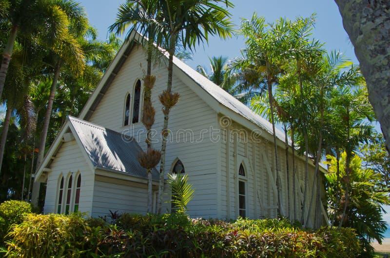 St Mary церковью Port Douglas Квинслендом Австралией моря стоковое изображение rf