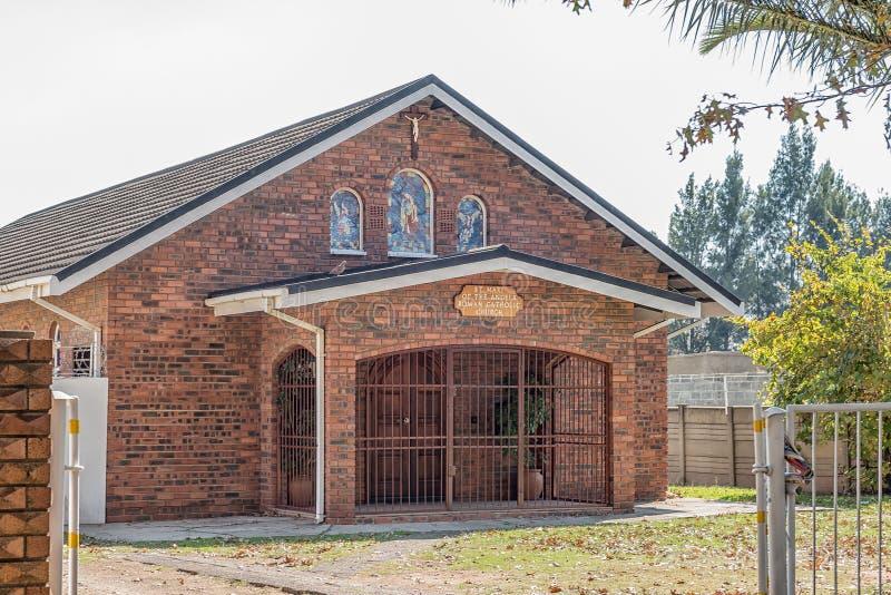 St Mary церков ангелов римско-католической в Bethal стоковые фото