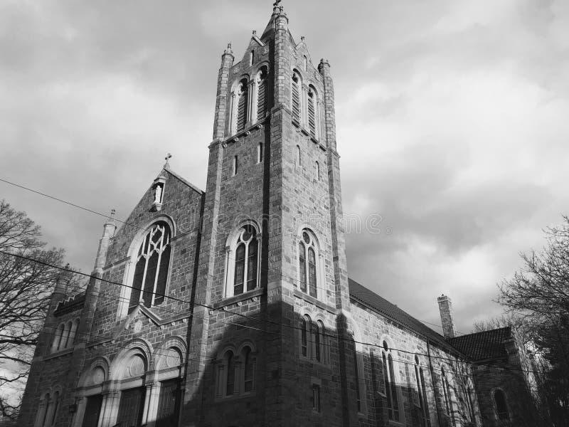 St Mary av den Czestochowa romaren - katolsk kyrka royaltyfri foto