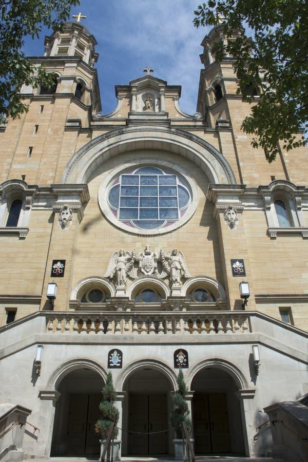 St Mary Basilca, Marietta, Огайо стоковая фотография