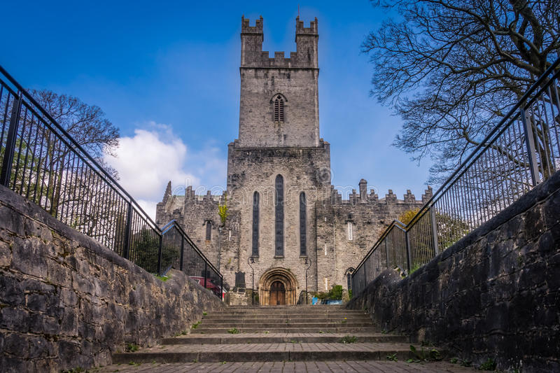 St Mary Cathedral in Limerick. Old St Mary Cathedral in Limerick, Ireland royalty free stock image