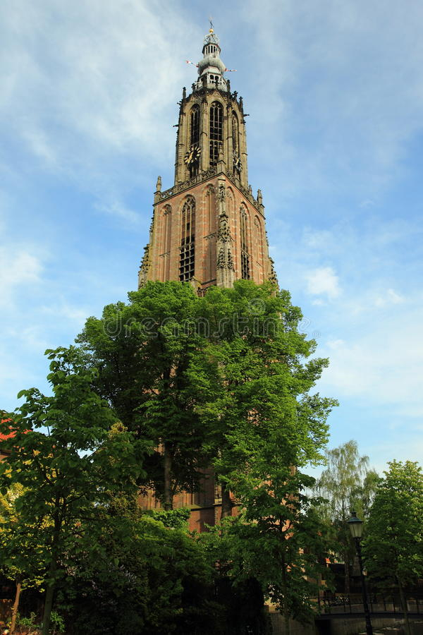 St. Mary church in Apeldoorn. The St Mary church in Apeldoorn, Netherlands stock image