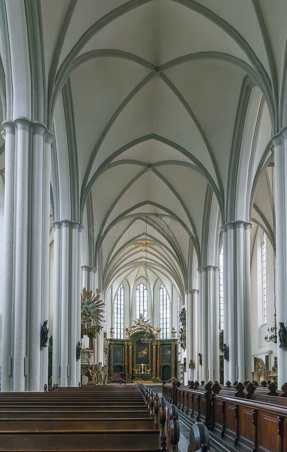St. Mary Church, Berlim foto de stock