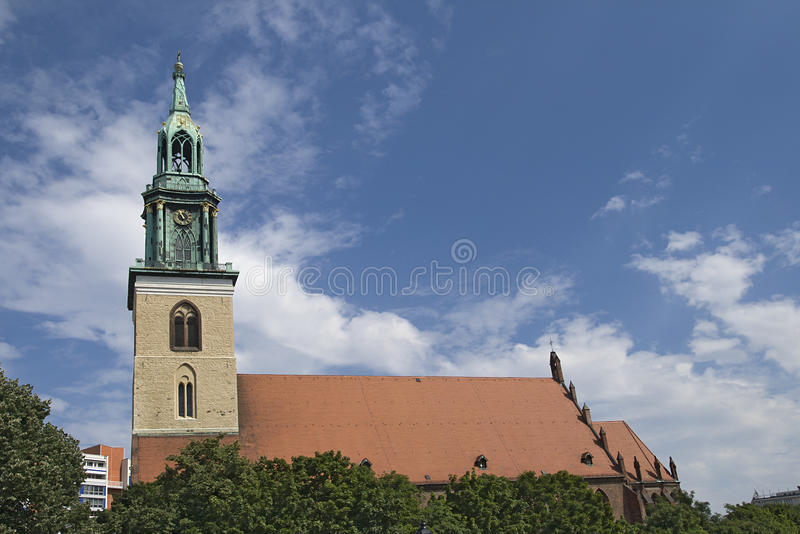 Download St Mary church in Berlin stock image. Image of germany - 27589533