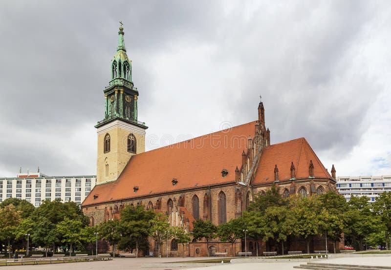 St. Mary Church, Berlin Stockfoto
