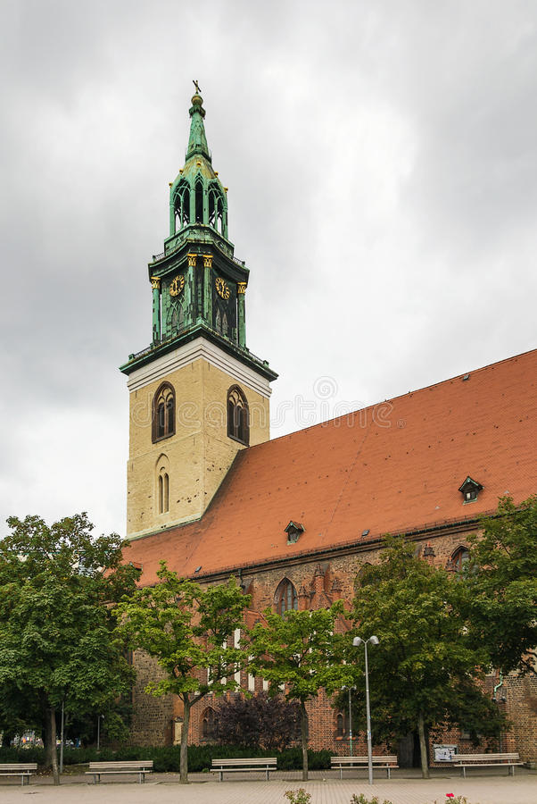 Download St. Mary Church, Berlin stock image. Image of christianity - 33795717