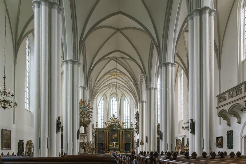 St Mary Church, Berlino immagine stock libera da diritti