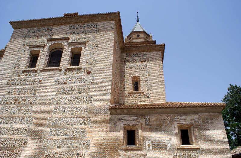 St Mary Church di Alhambra a Granada, Spagna fotografie stock