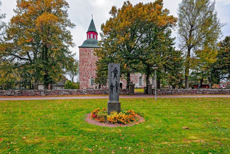 St Mary Church, Saltvik, Aland, Finland royalty-vrije stock fotografie