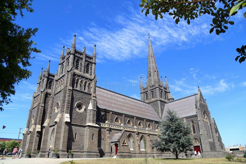 St Mary da basílica dos anjos imagens de stock
