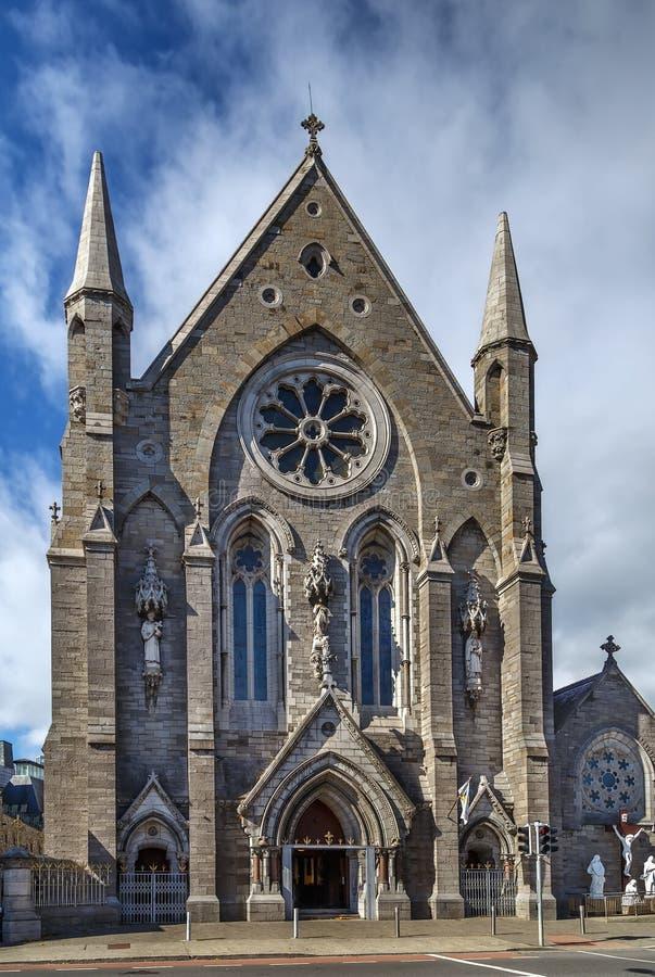 St Mary degli angeli chiesa, Dublino, Irlanda immagine stock libera da diritti