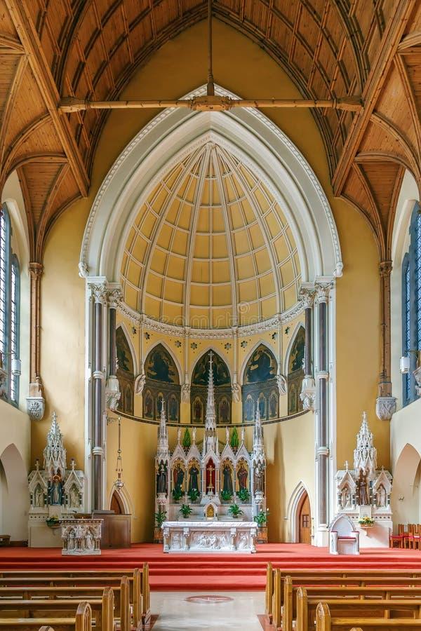 St Mary degli angeli chiesa, Dublino, Irlanda fotografie stock libere da diritti