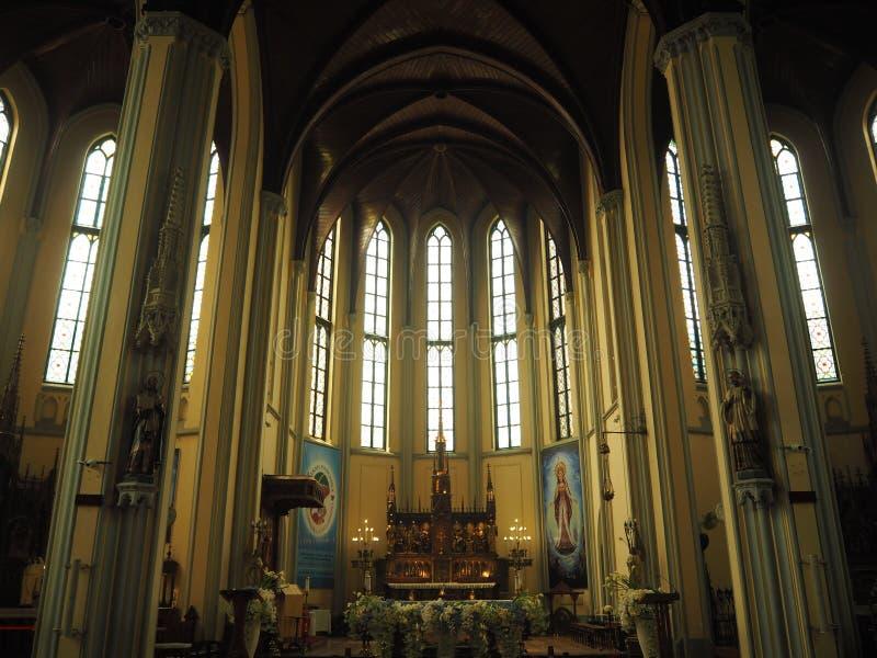 St Mary della cattedrale di presupposto, Jakarta immagine stock