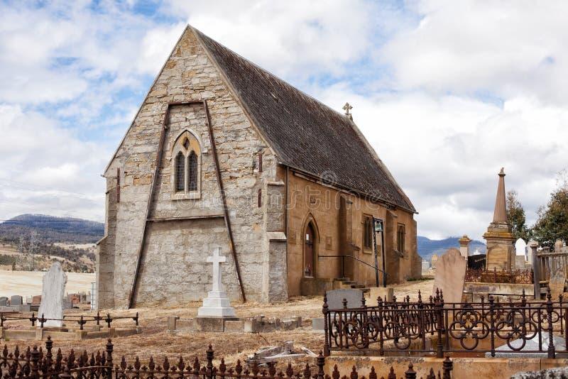 St Mary den jungfruliga kyrkan, Gretna royaltyfri bild