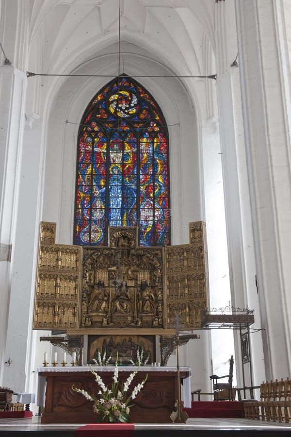 St Mary, Gdansk fotografia de stock royalty free