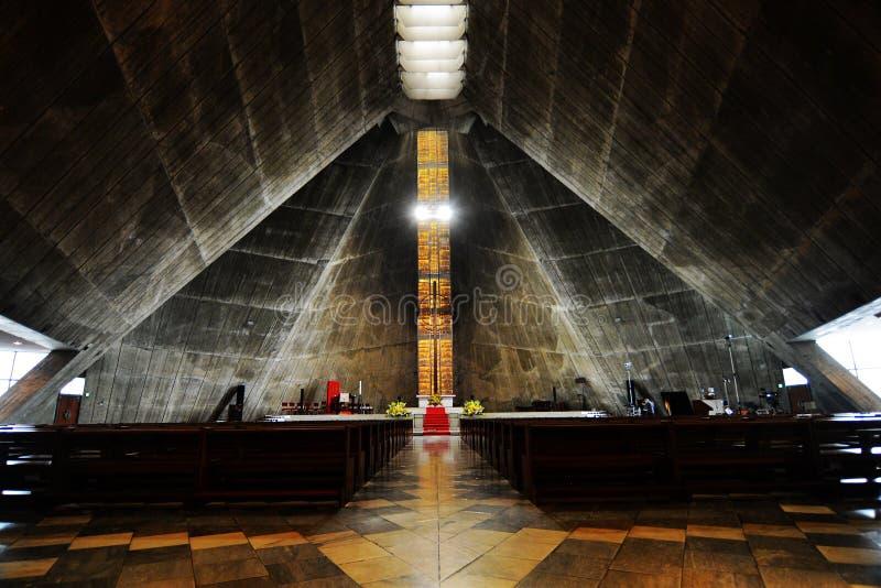 St Mary Kathedraal, Tokyo stock fotografie