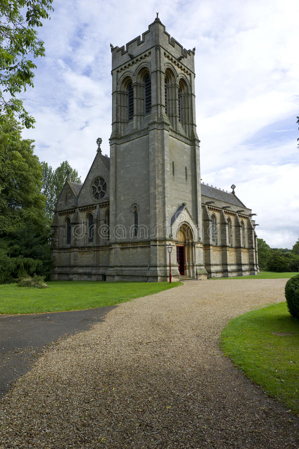St Mary Kerk, Woburn, het UK royalty-vrije stock afbeelding