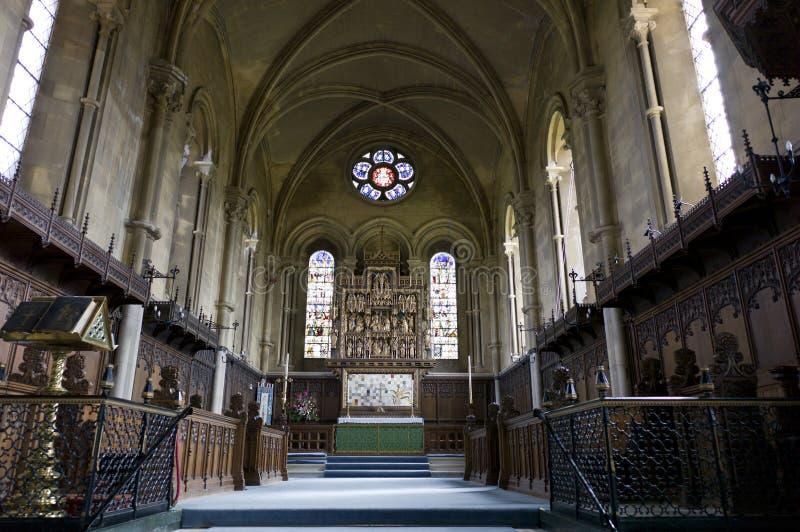 St Mary Kerk, Woburn, het UK royalty-vrije stock afbeeldingen