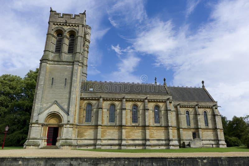 St Mary Kerk, Woburn, het UK stock foto's