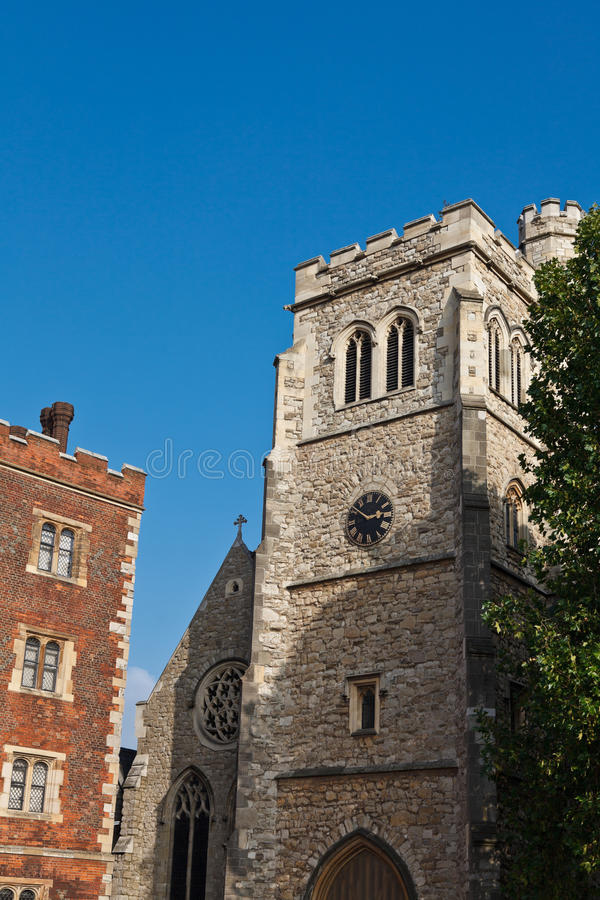 Download St Mary-at-Lambeth Church stock image. Image of gothic - 23891185