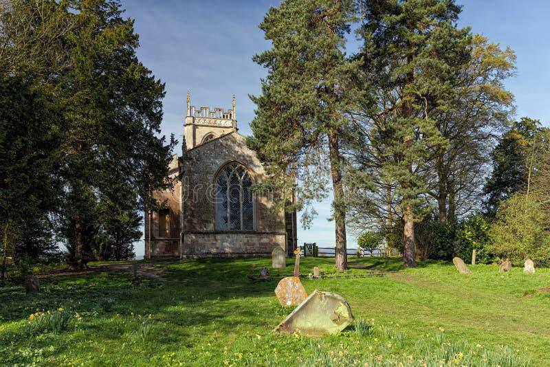 St Mary Magdalene Church, ` Abitot, Worcestershire de Croome D photo libre de droits
