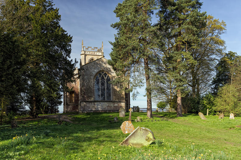 St Mary Magdalene Church, Croome D ` Abitot, Worcestershire royalty-vrije stock foto