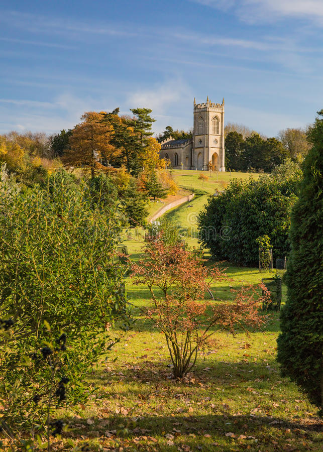 St Mary Magdalene Church, Croome D ` Abitot, Worcestershire royalty-vrije stock fotografie