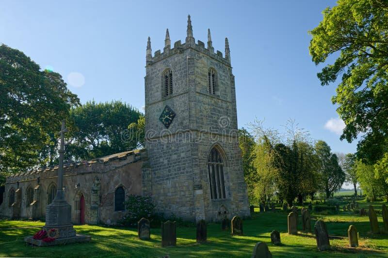 St Mary Magdalene Church Whitgift Equita??o do leste de Yorkshire imagens de stock