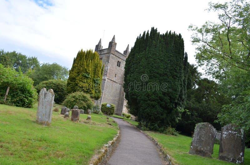 St Mary Magdalene's Church stock photo