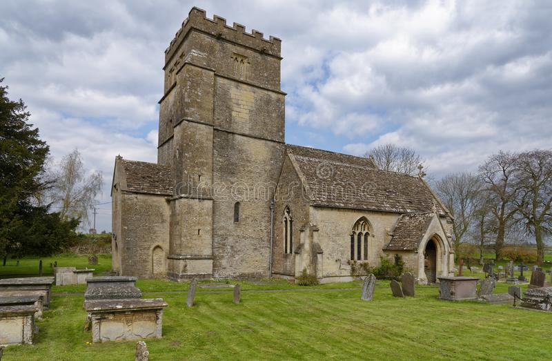 St Mary Magdelene Church, Tormarton royaltyfri fotografi