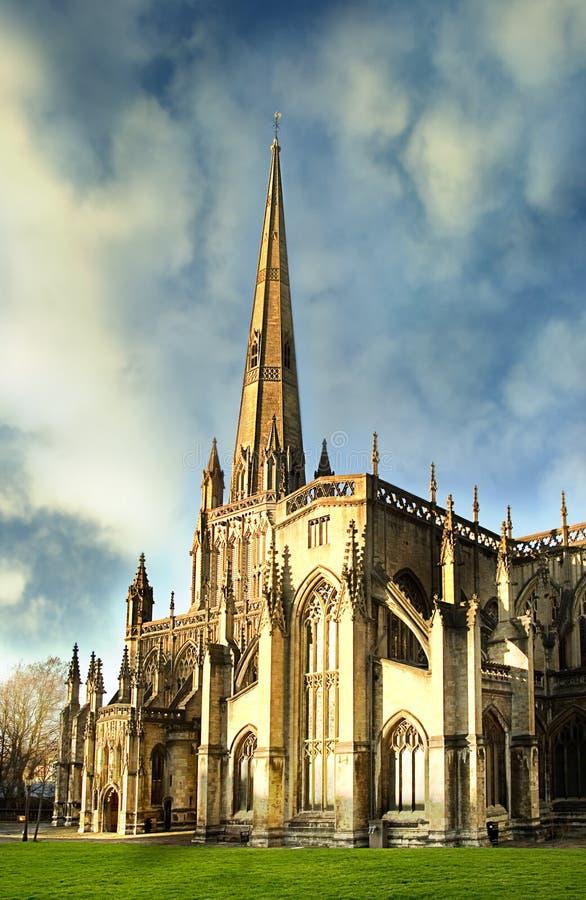 St Mary Redcliffe fotografia de stock