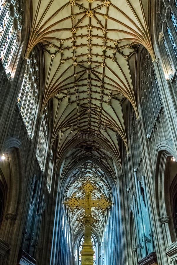 St Mary Redcliffe Bristol, iglesia inglesa de la arquitectura gótica, C imágenes de archivo libres de regalías