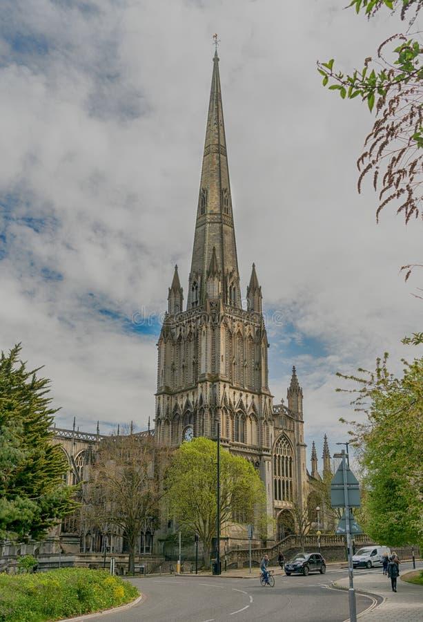 St Mary Redcliffe kerk in Bristol, het Verenigd Koninkrijk stock afbeelding