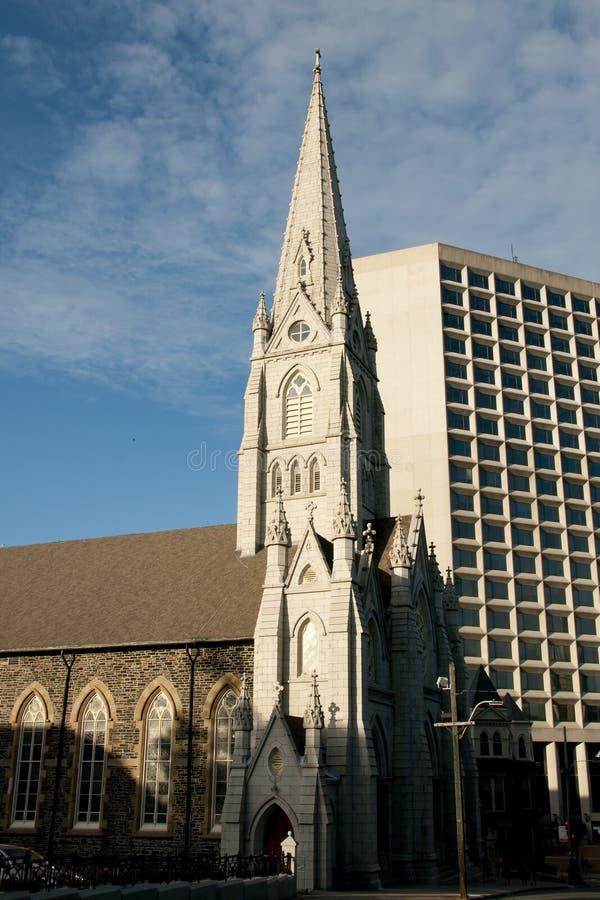 St Mary& x27;s Cathedral Basilica - Halifax - Nova Scotia royalty free stock photos