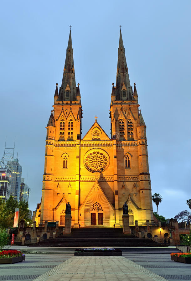 Free St. Mary S Cathedral In Sydney Stock Photos - 62353933