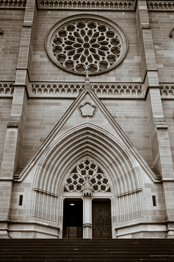 Download St Mary's Cathedral In Sydney, Australia. Stock Image - Image: 24023051