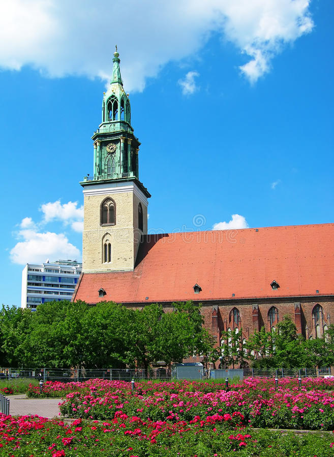 St. Mary S Church, Berlin Stock Photo