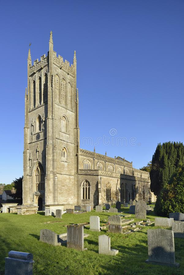 St Mary`s Church, Bruton royalty free stock photo