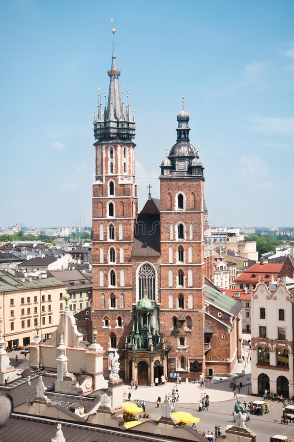 Free St. Mary S Church In Krakow Stock Photography - 19656912