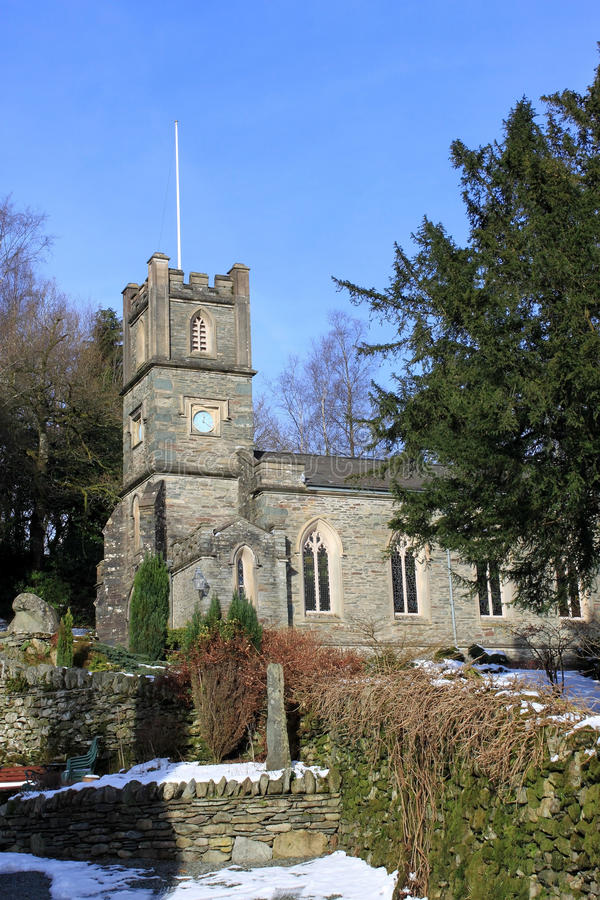 Download St. Mary's Church, Rydal, Cumbria, UK Stock Image - Image: 23279805