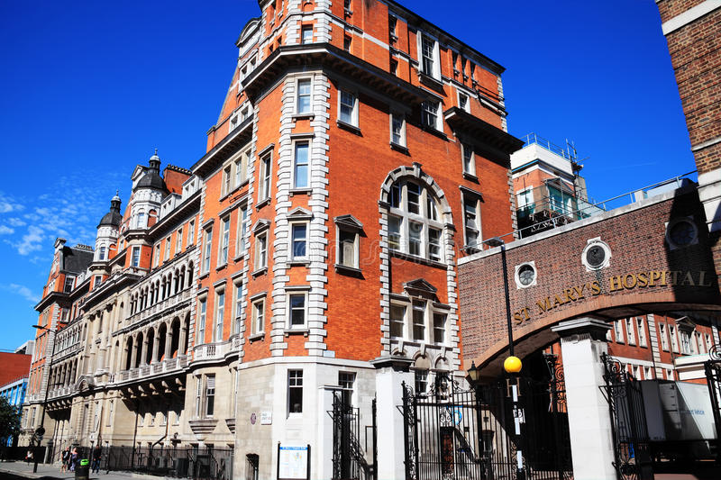 Download St Mary's Hospital In London Editorial Image - Image: 20935185