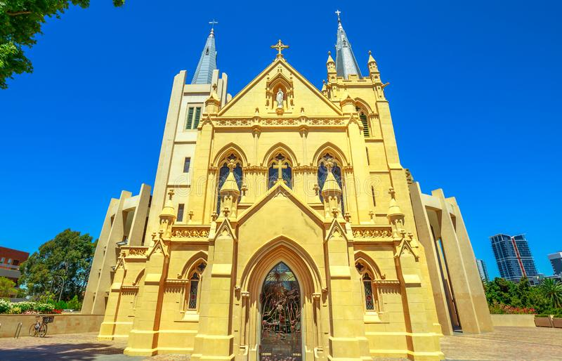 St Mary ` s Kathedraal in Perth royalty-vrije stock fotografie