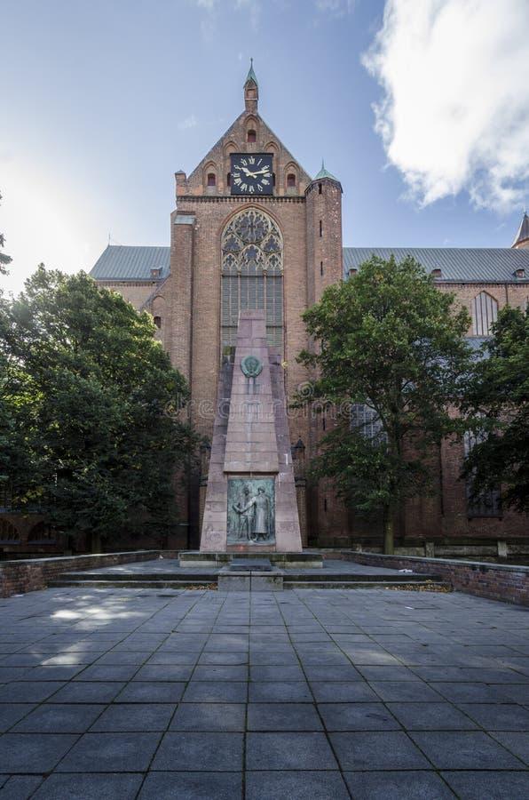 St- Mary` s Kirche, Stralsund, Deutschland lizenzfreies stockfoto