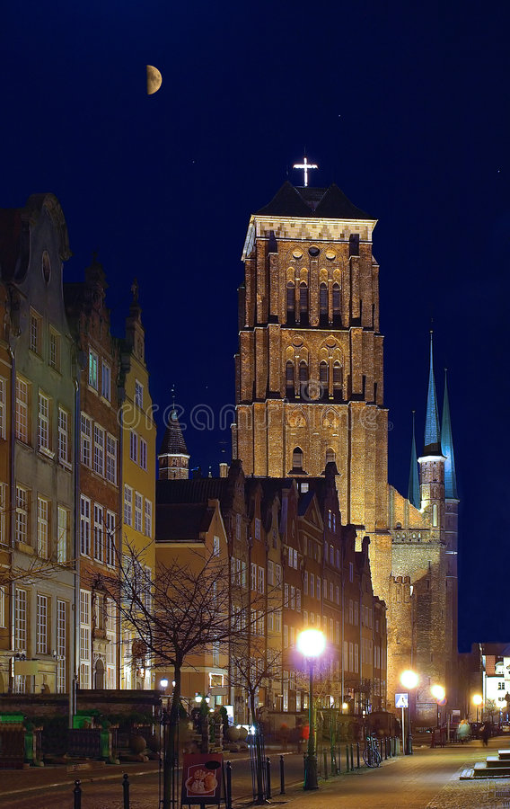 Download St. Mary's Old Cathedral In Gdansk Stock Image - Image: 9294525