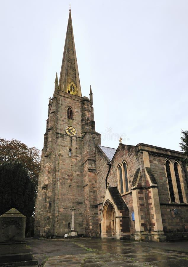 St. Mary's Priory Church stock photos