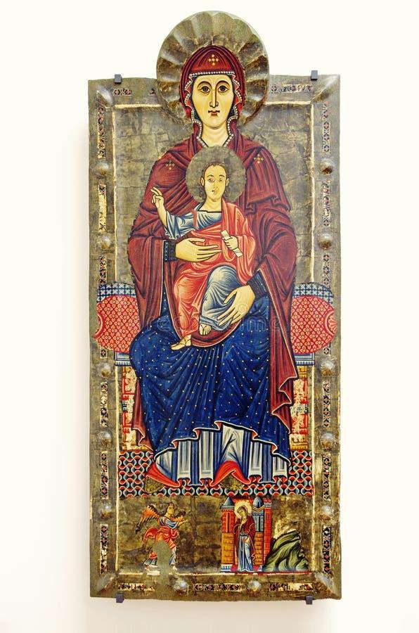 St Mary und Jesus Christ stockfoto